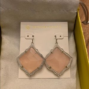 Kendra Scott Kirsten Silver Drop Earrings
